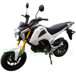 "MC-D156 50cc Motorcycles with 4-Speed Manual Transmission! Big 12"" Wheels, Electric Start!"