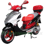 "MC-D23 150cc Moped Scooter with 13"" Aluminum Rim, Rear Trunk!"