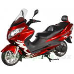 BMS TBX 260cc Scooter with Deluxe Touring Style, EFI System, Lots of Premium Upgrade Features, High Quality!Free Shipping!