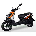 "BMS Cavalier 150cc Moped Scooter with 13"" Wheels! Made by ZNEN, High Quality! Free Shipping! 2016 Year Model!"
