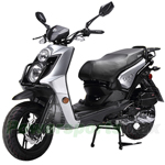 "BMS Cavalier 150cc Moped Scooter with 13"" Wheels! Rear Trunk, 98% Assembled! Free Shipping! 2017 Year Model!"