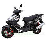 "BMS Prestige 150cc Moped Scooter with 13"" Wheels! Made by ZNEN, High Quality! Free Shipping! 2016 Year Model!"