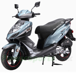 "BMS Prestige 150cc Moped Scooter with 13"" Wheels! Rear Trunk, 98% Assembled! Free Shipping! 2017 Year Model!"