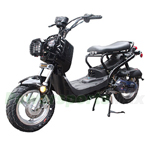 "MC-F004 50cc Moped Scooter with 12"" Aluminium Wheels! Electric/Kick Start! Disc/Drum Brakes!"