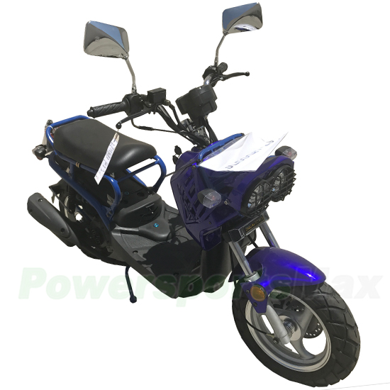 """50cc Moped Scooter with 12"""" Aluminium Wheels! Electric ..."""