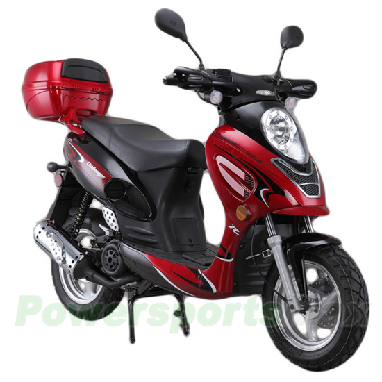 150cc gas Moped