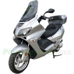 "MC-G033 Ranger 250cc Scooter with 13"" Wheels, With Windshield and Trunk, Electric/Kick Start!"