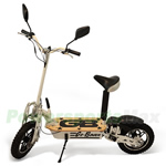 "MC-L001 1000W Foldable Electric Sit or Stand Scooter, Chain Drive, 20MPH Max Speed! 10"" Tires!"
