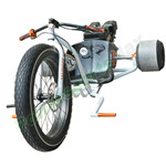 MC-N005 208cc Gas Powered Drift Trike Tricycle Bike, Fat Ryder Motorized, Big Front Wheel!