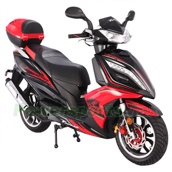150cc gas power scooters,150cc Moped Scooter with CVT ...