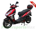 "MC-T24 50cc Moped Scooter with 12""  Wheels, Electric / Kick Start, New Arrival!"