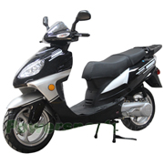 "MC-X11 150cc Moped Scooter with Automatic Transmission and 13"" Aluminum Rim!Electric/Kick Start!"