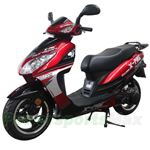 MC-X14 X-PRO<sup>®</sup> 150cc Moped Scooter with 13&quot; Aluminum Wheels, Electric / Kick Start, New Arrival!