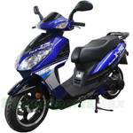 "MC-X14 X-PRO 150cc Moped Scooter with 13"" Aluminum Wheels, Electric / Kick Start, New Arrival!"