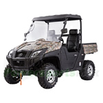BMS UTV 800-V-TWIN 800cc Utility Vehicle, Glass Windshield with MP3 Player plus 2 Speakers! High Quality!