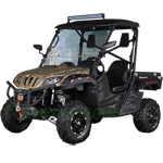 "BMS Ranch Pony 700cc EFI Utility Vehicle with Automatic Transmission w/Reverse! Big 25"" Wheels! Free Shipping!"