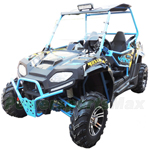 "Blade 150cc 2X4 Utility Vehicle with CVT Automatic Transmission w/Reverse! With Windshield, Big 22"" Wheels!"