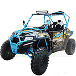 "PREDATOR FX400 Utility Vehicle with Automatic Transmission w/Reverse! Electric Start, With Windshield, Big 25"" Wheels!"