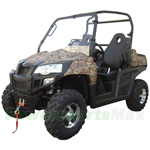 UV-P015 800cc Utility Vehicle, 4x4 Shaft Drive, EFI System!