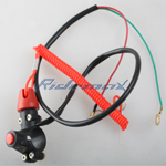 Universal kill switch for 49cc 110cc 125cc ATV Pit bike tether Line Kill switch,free shipping!