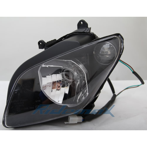 Headlight Assembly for MC-54-150/250 MC-54B-150/250 Scooter