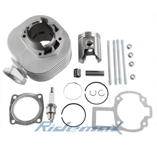 50mm Cylinder Piston Ring Gasket Pin Top Kit Set SUZUKI LT80