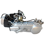 150cc Long Case 4-stroke GY6 Moped Scooter Engine w/CVT Transmission, Electric Start fit GY6 & most China made 150cc Scooters