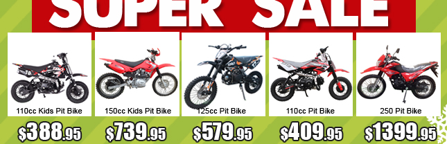 1-pit bike start form $219