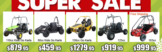 1-off road go kart start from $519