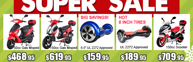 1a-gas scooter $448 hoverboard $139