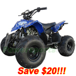 "ATV-F014-R274 110cc ATV with Automatic Transmission, Remote Control! Big 16"" Tires!Refurbished, Fully Assembled and tested!"