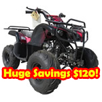 "ATV-T005 110cc ATV Automatic Transmission, Remote Control! 16"" Tires! Refurbished, Fully Assembled!Huge Savings $120!"