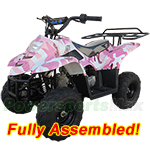 ATV-T039-R487 TaoTao Boulder B1 110cc ATV with Automatic Transmission, Rear Rack! Refurbished, Fully Assembled!