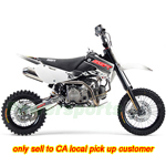DB-A075-R585 SR170TX 170cc Dirt Bike with 4-Up Manual Transmission, Kick Start! Free Shipping! Refurbished, Fully Assembled!