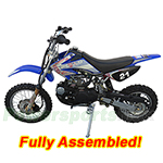 DB-D073-R489 APOLLO 125cc Dirt Bike with Manual Clutch Transmission, Refurbished, Fully Assembled!
