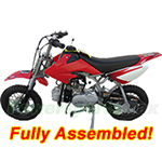 DB-X22-R482 90cc PitBike w/Automatic Transmission, Kick Start! Zongshen Brand Engine, Top Quality! Refurbished, Fully Assembled!