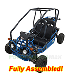GK-F015-R484 110cc Kid Size Go Kart with Automatic Transmission w/Reverse! Refurbished, Fully Assembled!
