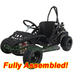 "GK-T012-R481 80cc Go Kart with Automatic Transmission, Recoil start! 13"" Wheels! An Adjustable Seat! Refurbished, Fully Assemble"
