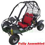 GK-X01-R328 125cc Go Kart with Automatic Transmission w/Reverse, Disc Brakes! Refurbished,Fully Assembled!