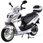 "MC-T14-R607 Lancer 150cc Moped Scooter w/Automatic Transmission, 13"" Aluminum Rim, Rear Trunk! Refurbished, Fully Assembled!"