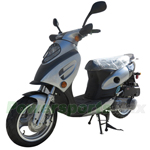 "MC-X25-R292 150cc Moped Scooter with Sporty Style, 13"" Aluminum Wheels!Refurbished, Fully Assembled!"
