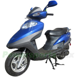 "MC-X36-R279 150cc Moped Scooter with 10"" Aluminum Wheels!CVT Automatic Transmission!Refurbished, Fully Assembled!"