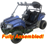 "UV-C02-R564 Armored 200 Utility Vehicle with CVT Automatic w/Reverse! Big 21""/22"" Wheels! Refurbished, Fully Assembled!"