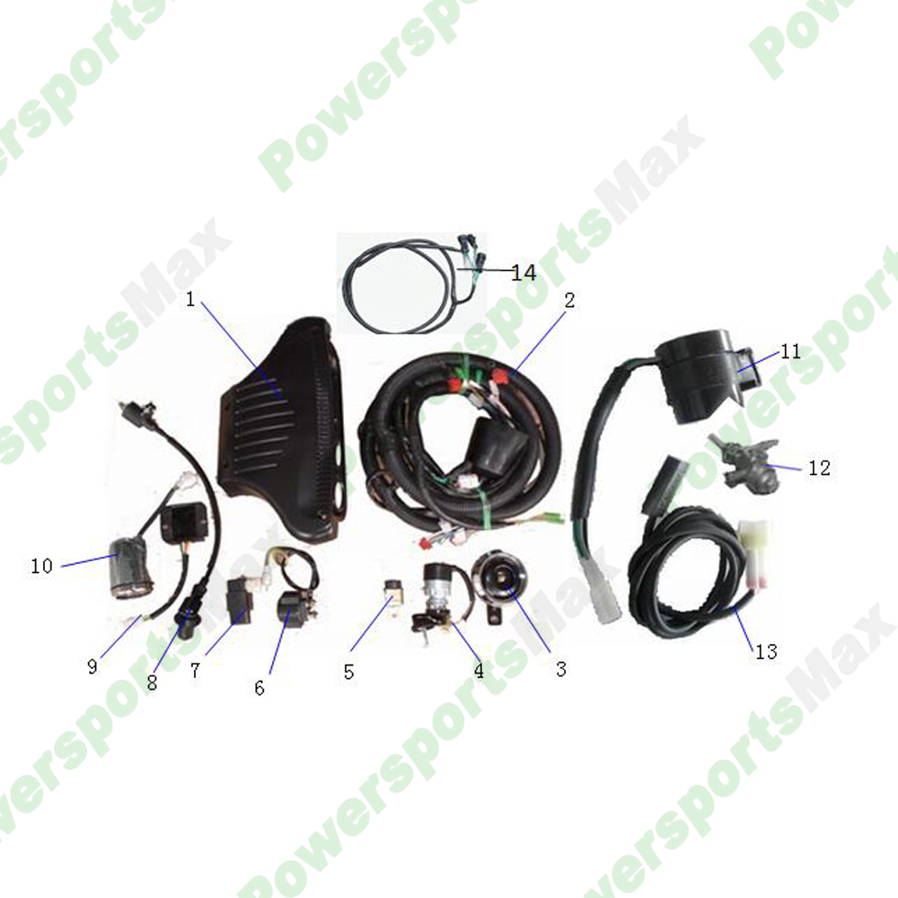DF200GKS Electrical Assembly Parts