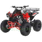 "Fully Assembled and Tested! Apollo Sportrax 125cc ATV with Automatic Transmission w/Reverse, Electric Start, Big 19""/18"" Tires!"