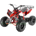 "Fully Assembled and Tested! Apollo Sniper 125cc ATV with Automatic Transmission w/Reverse, Electric Start, Big 19""/18"" Tires!"