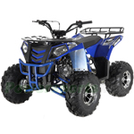 "Fully Assembled and Tested! Apollo Commander DLX 125cc ATV with Automatic Transmission w/Reverse, Electric Start, Big 19""/18"" Alloy Tires!"