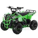"Fully Assembled and Tested! Apollo Mini Commander 110cc ATV with Automatic Transmission w/Reverse, 6"" Tires, Electric Start!"