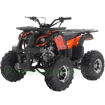 "Apollo Focus 125 DLX 125cc ATV with Automatic Transmission w/Reverse, Electric Start, Big 19""/18"" Alloy Wheels!"
