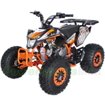 "ATV-H04 125cc Performance Racing ATV, Automatic Transmission w/Reverse! Remote Control, LED Tail Light, Big 19""/18"" Tires!"